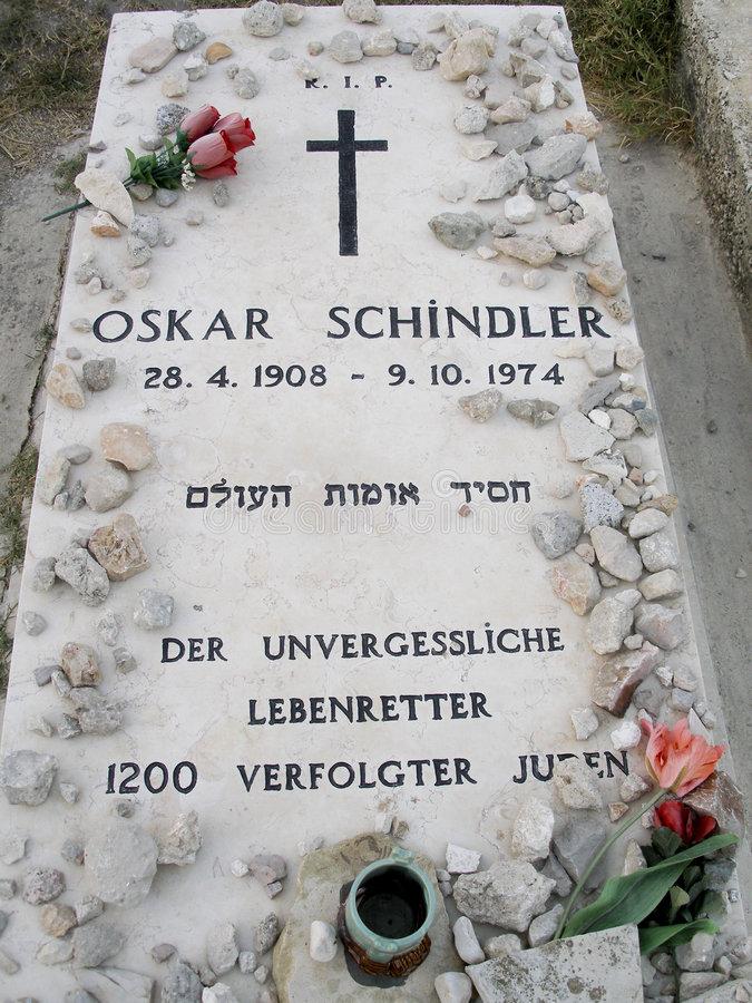 Grób Oskara Schindlera